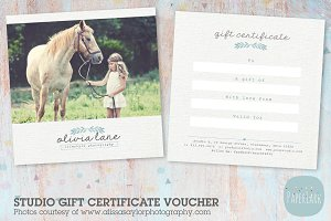 VG006 Gift Certificate Template
