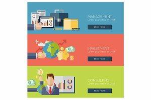 finance management investment banner