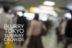 Abstract Tokyo Subway -15 image pack