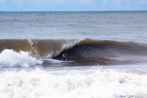 Pro Surfer Big Wave