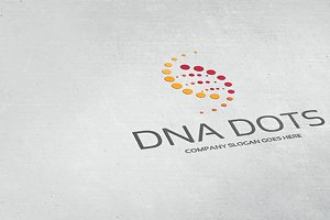 Dna Dots Logo