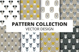 Animal Patterns and Flat Icons