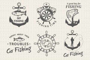 Fishing labels