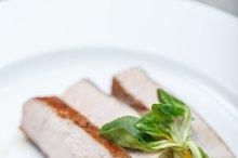 Boiled pork meat