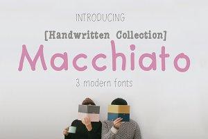 Macchiato [3 Fonts]