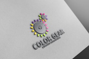 Color Gear Logo