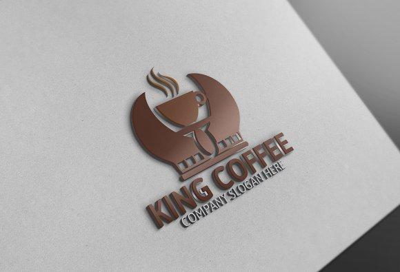 King Coffee Logo