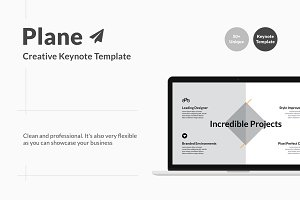 Plane - Creative Keynote Template