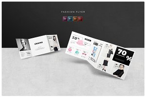 Fashion Square Trifold Template
