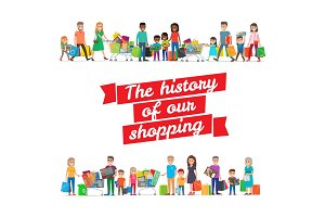 The History of our Shopping Concept with Families