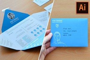 Envelope CV Template