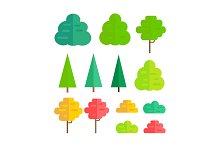 Set of Isolated Trees