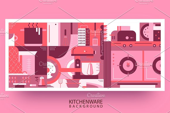 Kitchen Abstract Background