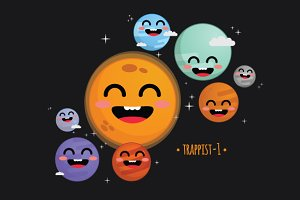 Trappist-1 Cute System