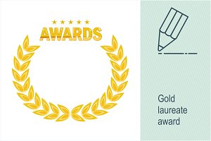 Gold laureate award