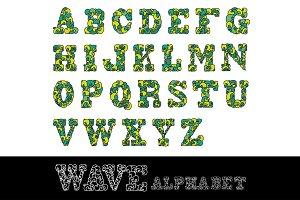 Wave Alphabet