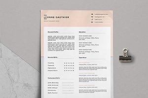 Resume & Cover Letter / Léonne