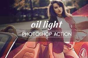 Oil Light Photoshop Action