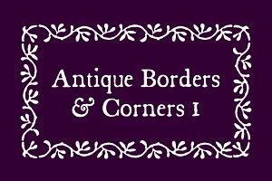 Antique Borders & Corners 1