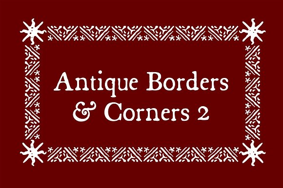 Antique Borders Corners 2