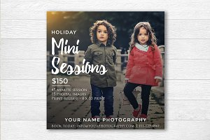 Photography Holiday Flyers Template