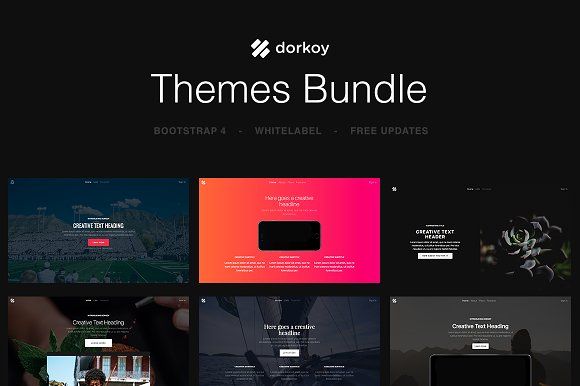 Dorkoy Themes Bundle - Save $200+