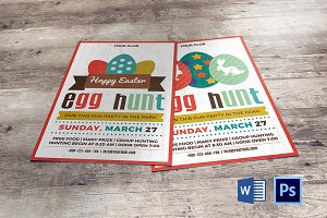 Easter Egg Hunt Party Invitation