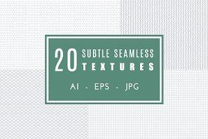 20 subtle seamless textures