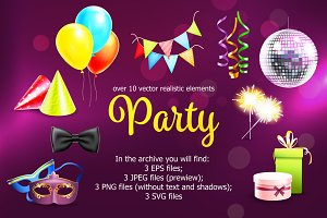 Party Elements Set