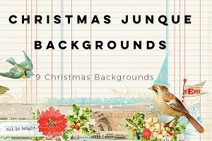 Christmas Junque Backgrounds
