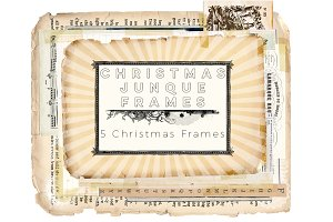 Christmas Junque Frames