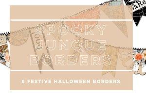 Spooky Junque Borders