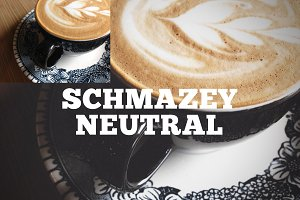 Schmazey Neutral Photoshop Action