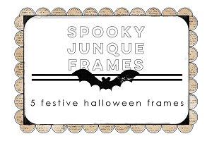 Spooky Junque Frames