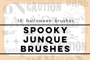 Spooky Junque Brushes