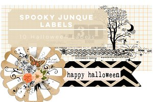 Spooky Junque Labels