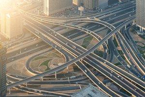 Highway crossroads