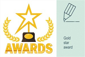 Gold sta award