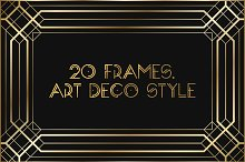 Art Deco Frames