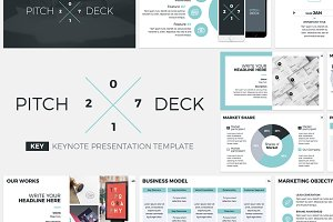 Pitch Deck 2017 Keynote Template