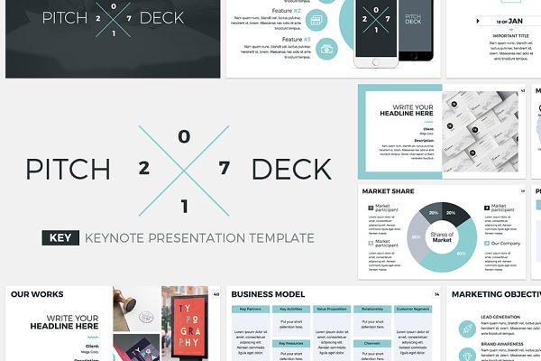 Pitch Deck 2017 Keynote Template