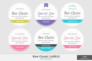New Classic Labels