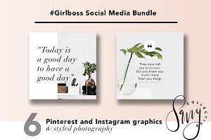 #GirlBoss Social Media Bundle