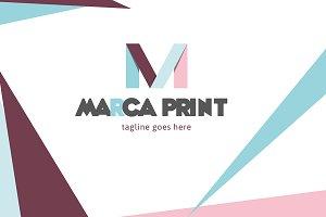 Marca Print Logo
