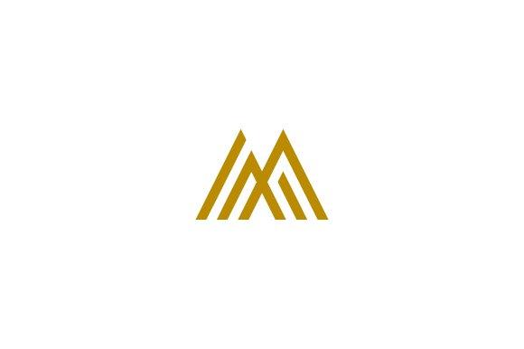 Marcus 04 Letter M Logo Templates Creative Market