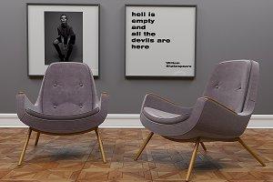 Metro armchair by inDahouze