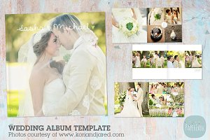 RW001 Wedding Album Template