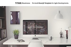 TITAN Business ReactJS Static Site