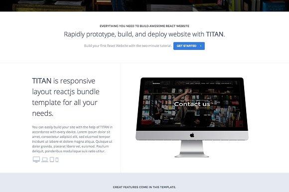 TITAN Business NextJS & ReactJS