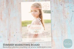 IH004 Summer Marketing Board